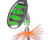 * Savage Gear 18 Rotex Spinner 4g green 50728