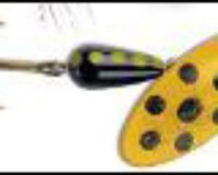 Sølvkroken 18 100276 Spesial spinner 6g YBL