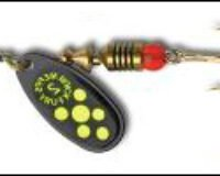 Mepps 18 122531 Black Fury 1 BL/G  3,5 g