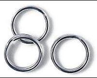Sølvkroken 18 3614 Splittringer 20stk 14mm