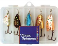 Vibrax 20 Spinnersett med boks 5stk 110394