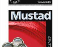 Mustad 13 Stainless splitring #7 160441