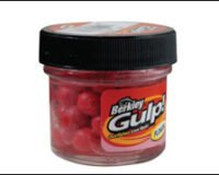 Berkley 21 Gulp Salmon Eggs Fluo Red 1102717
