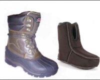 Canada boots 2014 med løs innersokk Strl 41