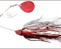 Savage Gear 18 DaBush Spinnerb. 42g red silver fla