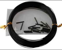 Savage Gear 16 Black Coated Wire 0,45mm 45152