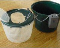 Spesialbøtte for oppbevaring av fisk 12L m/pumpe