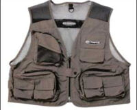 Ron Thompson 20 Mesh Lite Fly Vest L Stone