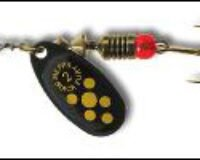 Mepps 18 100117 Black Fury 1 BL/Y  3,5 g