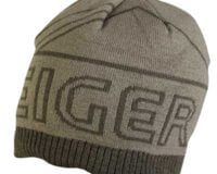 Eiger 18 Knitted Beanie Olive green. Hat m